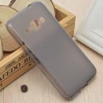 Силиконовый матовый полупрозрачный чехол для Samsung Galaxy J1 (2016)