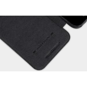 Чехол флип на пластиковой основе с отделкой Кожа для Lenovo Moto X Play