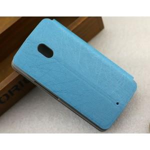 Текстурный чехол флип подставка на присоске для Lenovo Moto X Play