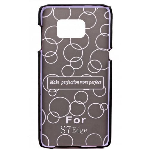 Чехол накладка с отделением для карты текстура Кожа для Samsung Galaxy S7