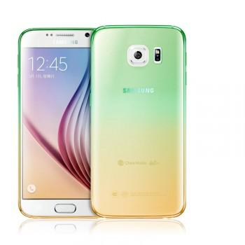Силиконовый градиентный чехол для Samsung Galaxy S7