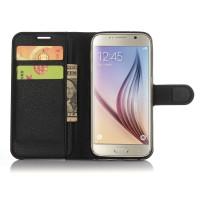 Чехол портмоне подставка с защелкой для Samsung Galaxy S7 Черный