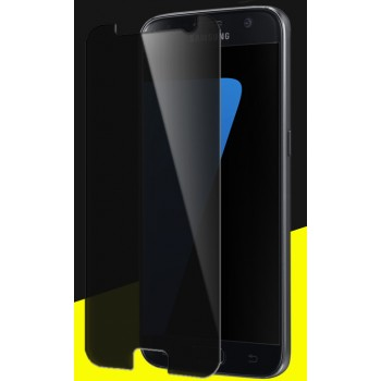 Антишпионское износоустойчивое сколостойкое олеофобное защитное стекло-пленка на плоскую поверхность для Samsung Galaxy S7