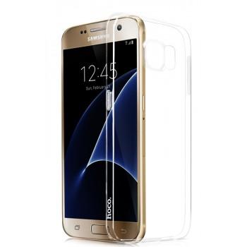 Силиконовый транспарентный чехол для Samsung Galaxy S7