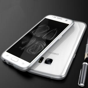 Металлический округлый премиум бампер винтового типа для Samsung Galaxy S7