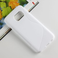 Силиконовый S чехол для Samsung Galaxy S7 Белый