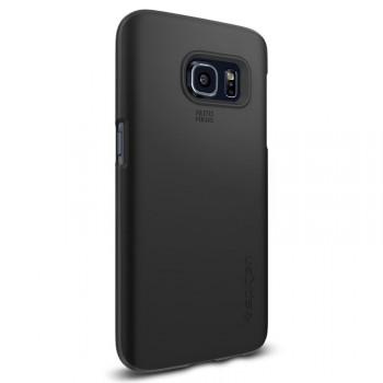 Пластиковый матовый непрозрачный нанотонкий премиум чехол для Samsung Galaxy S7