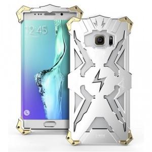 Металлический винтовой чехол повышенной защиты для Samsung Galaxy S7 Edge Белый