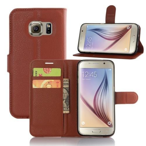 Чехол портмоне подставка с защелкой для Samsung Galaxy S7 Edge Черный