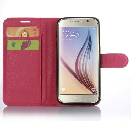 Чехол портмоне подставка с защелкой для Samsung Galaxy S7 Edge
