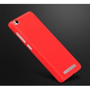 Силиконовый матовый непрозрачный чехол для Xiaomi RedMi 3 Красный