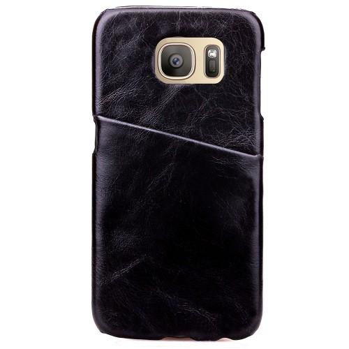 Чехол накладка с отделением для карты текстура Кожа для Samsung Galaxy S7 Edge