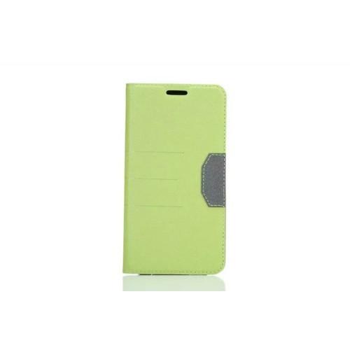 Текстурный чехол флип подставка на силиконовой основе с отделением для карты для Samsung Galaxy S7 Edge Бежевый