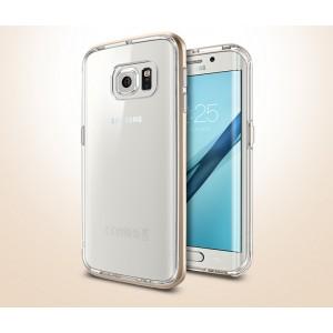 Двухкомпонентный премиум чехол с поликарбонатным бампером и силиконовой накладкой для Samsung Galaxy S7 Edge