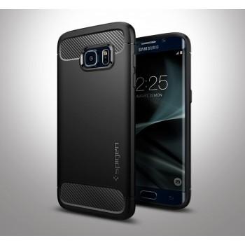 Силиконовый чехол экстрим защита для Samsung Galaxy S7 Edge