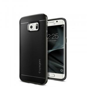 Антиударный гибридный силиконовый премиум чехол для Samsung Galaxy S7 Edge