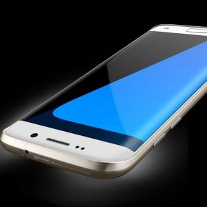 Металлический усиленный бампер сборного типа для Samsung Galaxy S7 Edge Бежевый