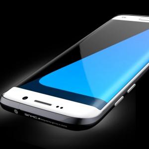 Металлический усиленный бампер сборного типа для Samsung Galaxy S7 Edge Черный