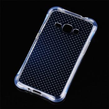 Силиконовый транспарентный чехол для Samsung Galaxy J1 (2016)
