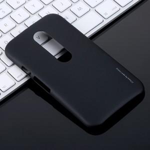 Пластиковый матовый непрозрачный чехол для Lenovo Moto G