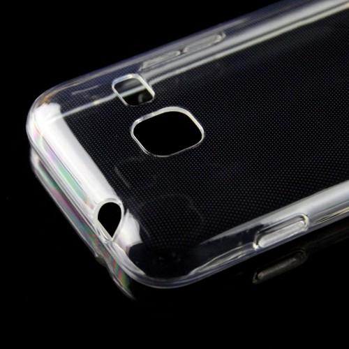 Силиконовый транспарентный чехол для Samsung Galaxy J1 mini (2016)
