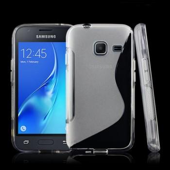 Силиконовый S чехол для Samsung Galaxy J1 mini (2016)