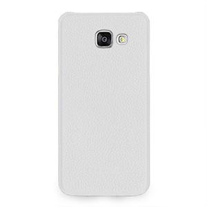 Кожаный чехол накладка (нат. кожа) для Samsung Galaxy A5 (2016)