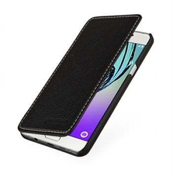 Кожаный чехол горизонтальная книжка (нат. кожа) для Samsung Galaxy A5 (2016)