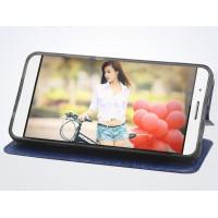 Чехол флип подставка на силиконовой основе текстура Дерево для Samsung Galaxy J3 (2016) Черный