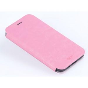 Водоотталкивающий чехол флип подставка на силиконовой основе для Samsung Galaxy J3 (2016) Розовый