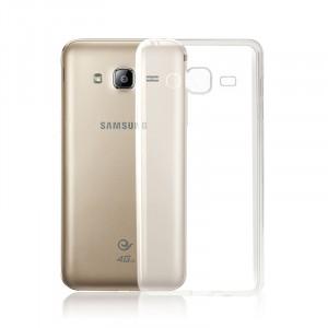Силиконовый транспарентный чехол для Samsung Galaxy J3 (2016)