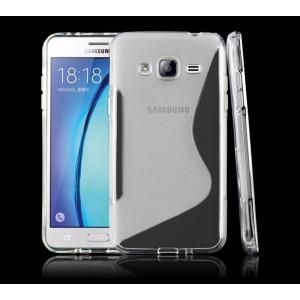 Силиконовый S чехол для Samsung Galaxy J3 (2016)
