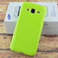 Силиконовый непрозрачный чехол для Samsung Galaxy J3 (2016) Зеленый