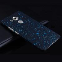 Пластиковый матовый дизайнерский чехол с голографическим принтом Звезды для Huawei Mate 8