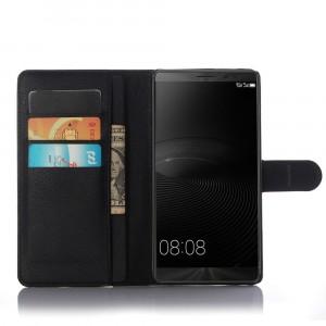 Чехол портмоне подставка с защелкой для Huawei Mate 8 Черный