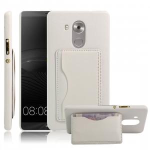 Дизайнерский чехол накладка с отделениями для карт и подставкой для Huawei Mate 8