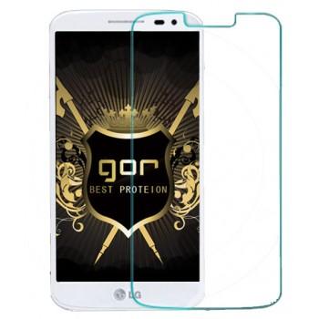 Ультратонкое износоустойчивое сколостойкое олеофобное защитное стекло-пленка для LG Optimus G2 mini