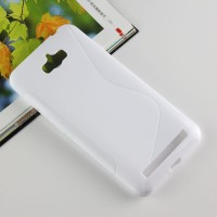 Силиконовый S чехол для ASUS ZenFone Max Белый