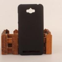 Пластиковый матовый непрозрачный чехол для ASUS ZenFone Max Черный
