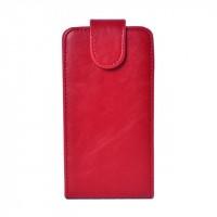 Чехол книжка вертикальная с заклепкой для LG Optimus G2 mini Красный