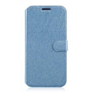 Текстурный чехол флип подставка на пластиковой основе с отделениями для карт для Samsung Galaxy Grand Prime