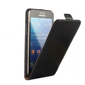 Чехол вертикальная книжка на пластиковой основе с магнитной застежкой для Samsung Galaxy Grand Prime