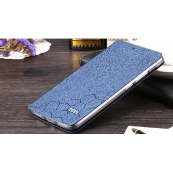 Чехол флип подставка на силиконовой основе текстура Соты для Huawei Mate 8