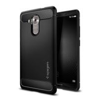 Силиконовый матовый непрозрачный антиударный премиум чехол для Huawei Mate 8