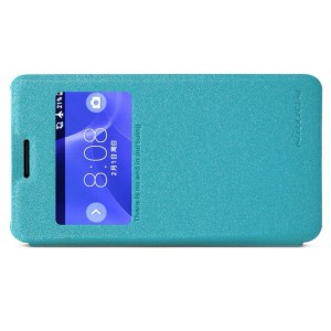 Чехол флип с окном вызова для Sony Xperia E1