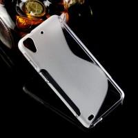 Силиконовый S чехол для HTC Desire 530/630 Белый