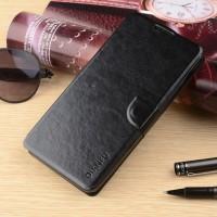 Чехол портмоне подставка на силиконовой основе с магнитной защелкой для HTC Desire 530/630 Черный