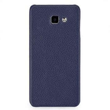 Кожаный чехол накладка (нат. кожа) для Samsung Galaxy A7 (2016)