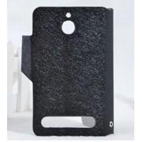 Чехол флип подставка с затежкой для Sony Xperia E1 Черный