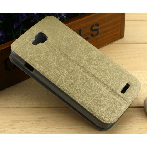 Текстурный чехол флип на присоске для LG L90